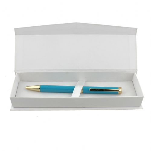 Bright Turquoise Ladies Pen in presentation box designer stationery 'By Appointment'